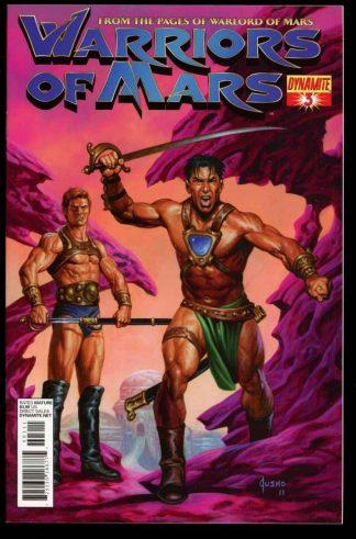 Warriors Of Mars - #3 – CVR A - 06/12 - 9.6 - 83-45606