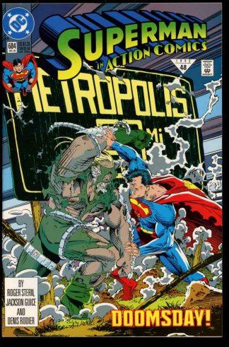 Action Comics - #684 - 12/92 - 9.0 - 10-104631