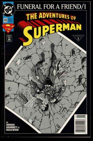 Adventures Of Superman - #498 - 01/93 - 9.0 - 10-104634
