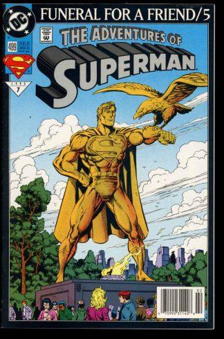 Adventures Of Superman - #499 - 02/93 - 9.0 - 10-104637