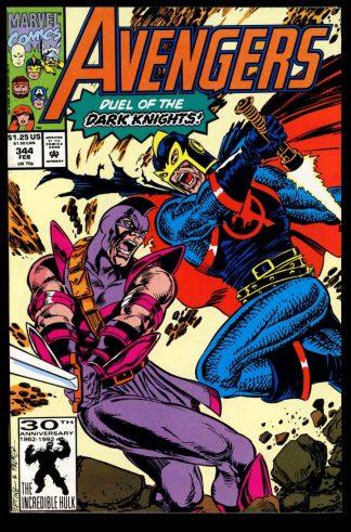 Avengers - #344 - 02/92 - 9.4 - 10-104694