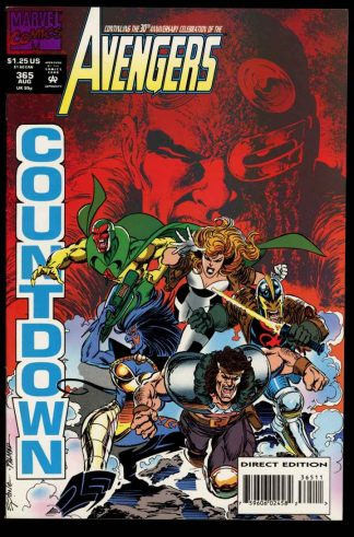 Avengers - #365 - 08/93 - 9.2 - 10-104695