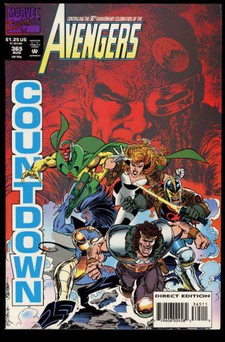 Avengers - #365 - 08/93 - 9.2 - 10-104696