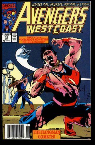 Avengers West Coast - #78 - 01/92 - 9.2 - 10-104703