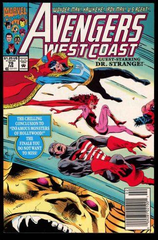 Avengers West Coast - #79 - 02/92 - 9.4 - 10-104704