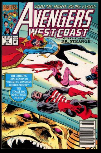 Avengers West Coast - #79 - 02/92 - 9.6 - 10-104705