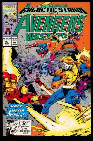 Avengers West Coast - #80 - 03/92 - 9.4 - 10-104706