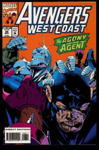 Avengers West Coast - #98 - 09/93 - 9.4 - 10-104707