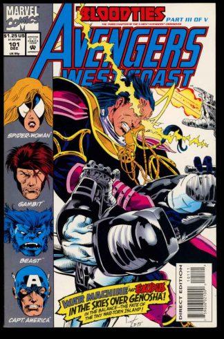Avengers West Coast - #101 - 12/93 - 9.4 - 10-104708