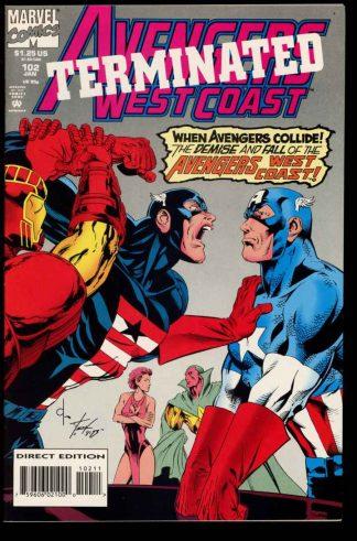 Avengers West Coast - #102 - 01/94 - 9.2 - 10-104709