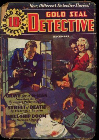 Gold Seal Detective - 12/35 - Condition: PR - Magazine Publishers