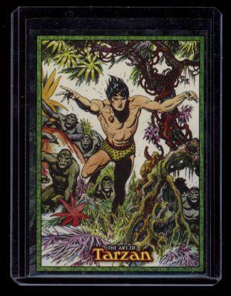 Art Of Tarzan Trading Cards Promo - 1 PC - -/15 - FN - 83-45489