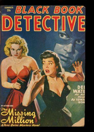 Black Book Detective - Summer/49 - Condition: FA-G - Thrilling