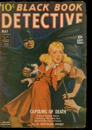 Black Book Detective - 05/43 - Condition: G-VG - Thrilling